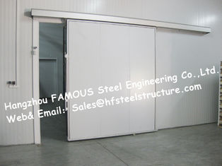 China 50mm , 100mm Thickness Walk In Cold Room  And Blast freezer Made of Polyurethane Panel supplier