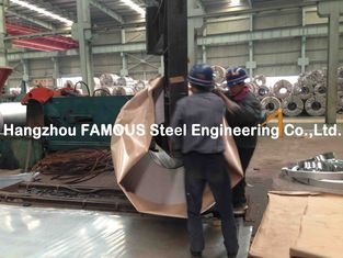 China Outside Walls Applied Galvanized Steel Coil / GL Galvalume Sheet supplier