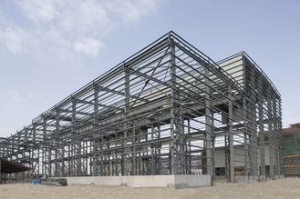 China Prefab Industrial Steel Buildings With PKPM , 3D3S , X-steel Engineering Software supplier