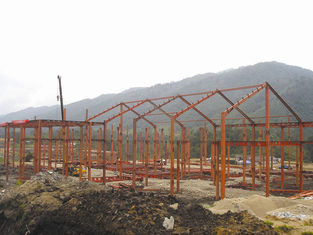 China Modular Prefabricated Steel Structure Buildings With Long Life And Short Process Time supplier