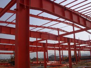 China Structural Steel Buildings With Corrugated Steel Sheet Panel Closure supplier