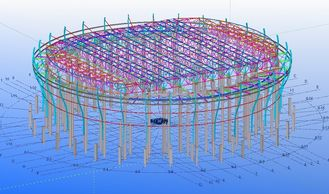 China Custom Steel Structural Engineering Designs for Factories, Warehouses and Showrooms supplier