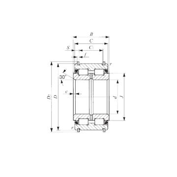 NAS 5026UUNR IKO Cylindrical Roller Bearings