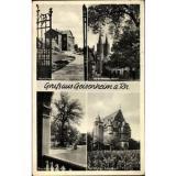 Ak Guam Geisenheim am Rhein Hessen, Pomologie, Dom, 600 jährige Linde,... - 1544093