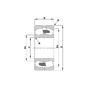 23234YM Timken Spherical Roller Bearings